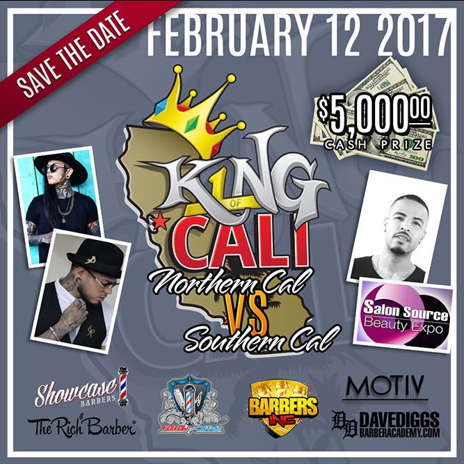 King Of Cali Barber Showcase